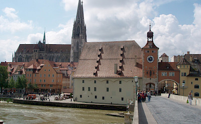 View of Cathedral in Regensburg, Germany. Photo via Flickr:Stefan M