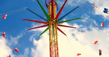 Swinging fun in Straubing, Germany. Photo via Flickr:Jakob Tiefenthaler