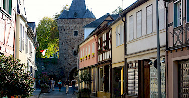 Biking through Ahrweiler, Germany. Flickr:Wilhelm Rosenkranz