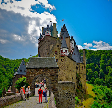 Eltz Castle lies between Koblenz and Trier along the Mosel River, Germany. Flickr:Chris Friese