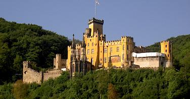 Schloss Stolzenfels near Koblenz, Germany. Flickr:Rolf Schulze
