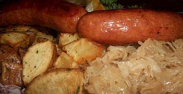 Typical German food! Photo via Flickr:magerleagues
