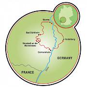Reno Romântico Mapa