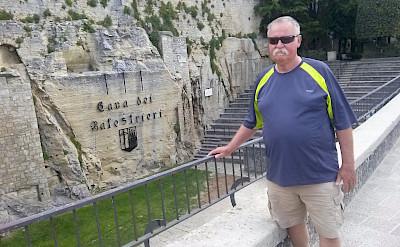 Hennie's husband, Jan Sr. in Riccione