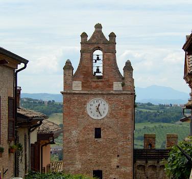 Gradara Castle, Gradara, Italy. Photo by Mary Burkhart