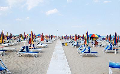 Rimini Beach. Photo via Flickr:siribl