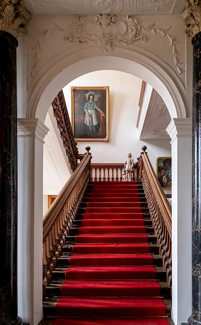 Interior of Castle Nordkirchen in Münsterland, Germany. Flickr:Allan Harris