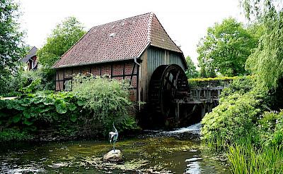 Wassermuhle in Münster, Germany. CC: Frank Vincentz