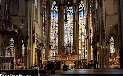 Church in Münster, Germany. Flickr:Franz Venhaus