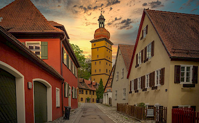 Dinkelsbühl on the Romantic Road in Franconia, Bavaria, Germany. Flickr:Heinz Bunse