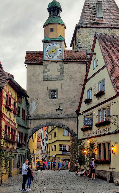 Along the Romantic Road, Rothenburg ob der Tauber, Germany. Flickr:Alexander Cahlenstein