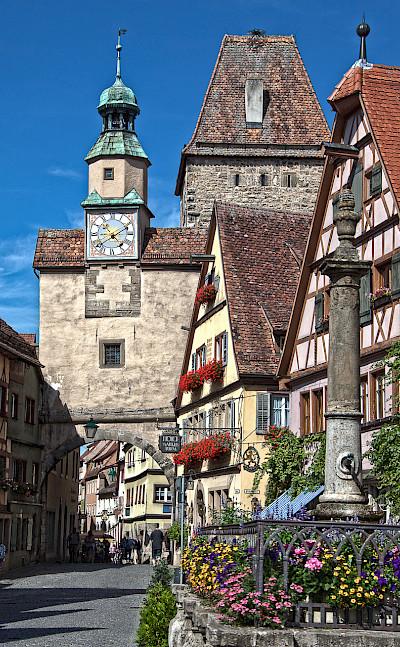 Rothenburg ob der Tauber, Germany. CC:Norbert Heidenbluth