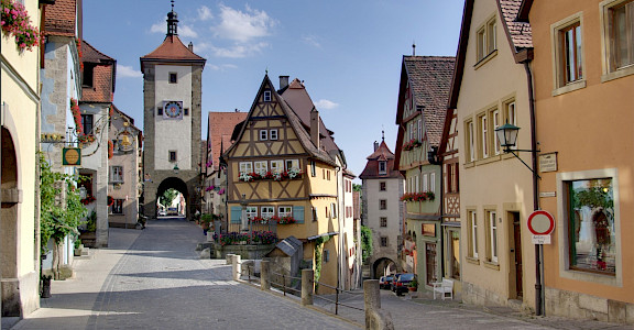 Rothenburg ob der Tauber, Germany. CC:Berthold Werner