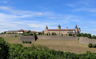 Festung Marienberg in Würzburg, Bavaria, Germany. CC:Avda