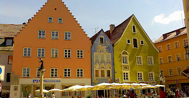 Marktplatz in Fussen, Germany. Photo via Flickr:Frantunes