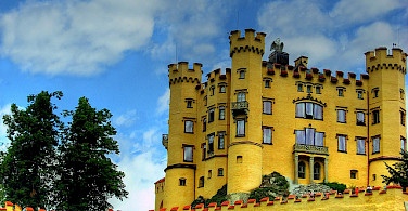 Hohenschwangau Castle in Bavaria, Germany. Photo via Flickr:joiseyshowaa