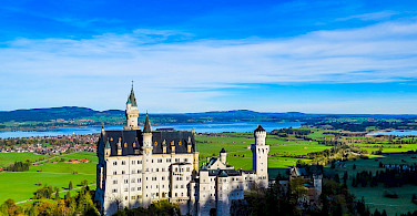 Schloss Neuschwanstein Castle near Füssen, Germany. Photo via Flickr:Kiefer