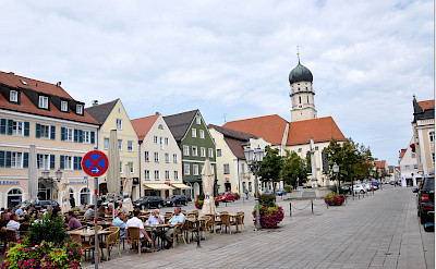 Relaxing in Schongau, Germany. Photo via Flickr:Janos Korom Dr