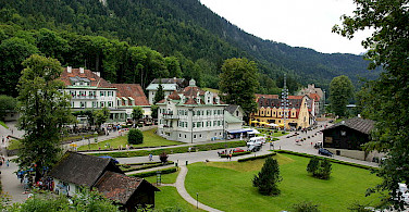 Schwangau along the Romantic Road tour in Germany. Photo via Wikimedia Commons:Allie Caulfield