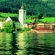 St. Wolfgang on Wolfgangsee. Photo courtesy of Austrian National Tourist Office
