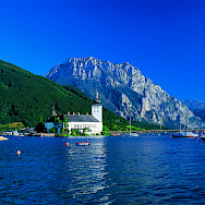 Schloss Ort on Traunsee. Photo via Austrian National Tourist Office