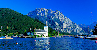 Schloss Ort on Traunsee. Photo courtesy of Austrian National Tourist Office