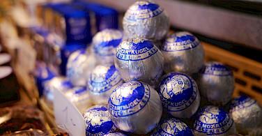 Mozart chocolates at Hohensalzburg in Salzburg, Austria. Photo via Flickr:Karlis Dambrans