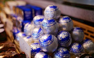 Mozart chocolates at Hohensalzburg in Salzburg, Austria. Flickr:Karlis Dambrans