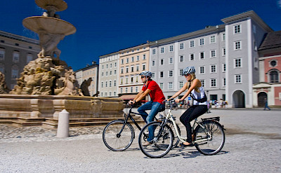 Biking Salzburg, Austria. Photo via TO© Oberösterreich Tourristik