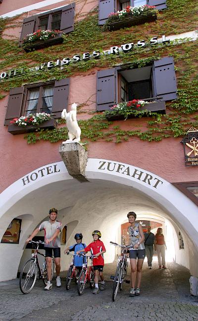 Hotel in Salzburg, Austria. Photo via TO© Oberösterreich Tourristik