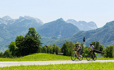 Cycling Salzburg and its surroundings in Austria. Photo via TO: ©SalzburgerLandTourismus