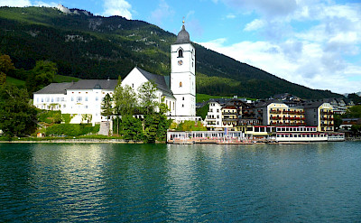 St Wolfgang on Wolfgangsee in the Salzkammergut, Austria. Flickr:Charlie Dave