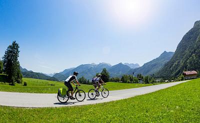 Cycling the region of Salzburg, Austria. ©SalzburgerLandTourismus