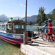 Wolfgangsee ferry in the Salzkammergut region of Austria. Photo via TO© Oberösterreich Tourristik