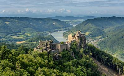 Ruins of Aggstein in Wachau region of Austria. Creative Commons:Uoaei1