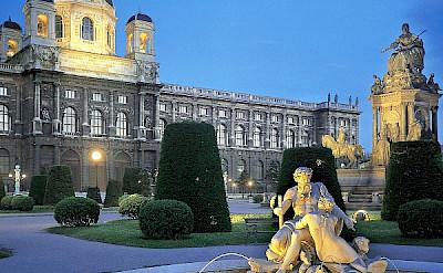 Museum of Fine Arts in Vienna, Austria. Photo via Austrian National Tourist Office