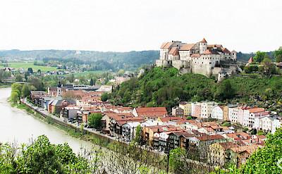 Along the Danube in Burghausen, Austria. Flickr:gogg