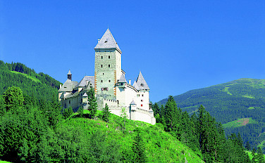 Finstergrün Castle in Salzburg Province, Vienna. Photo via Austrian National Tourist Office