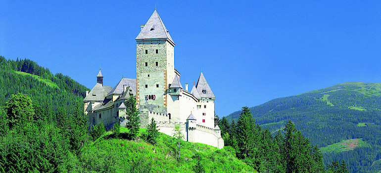 Finstergrun Castle in Salzburg Province, Vienna. Photo courtesy of Austrian National Tourist Office