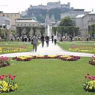 Mirabell Palace & Gardens in Salzburg, Austria. Photo via Flickr:SteveLage
