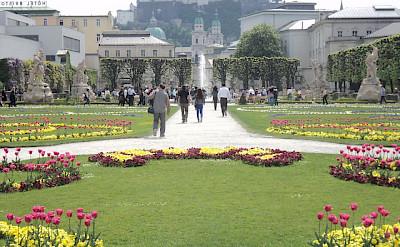 Mirabell Palace & Gardens in Salzburg, Austria. Flickr:SteveLage