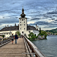 Schloss Ort in Traunsee, Austria. Photo via Flickr:Hennes Schneider