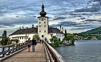 Schloss Ort in Traunsee, Austria. Flickr:Hennes Schneider