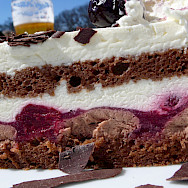 The famous <i>Schwartzwalder Kirschtorte</i> in Vienna, Austria. Photo via Flickr:Raphael Labbe