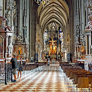 St Stephen's Cathedral in Vienna, Austria. Photo via Flickr:Dennis Jarvis