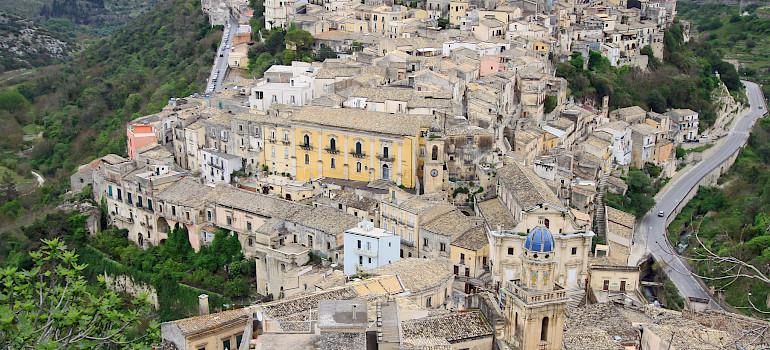 Ragusa, Sicily, Italy. Photo via Flickr:vil.sandi