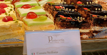 Pastries in Sicily! Photo via Flickr:lacittavita