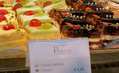 Pastries in Sicily. Photo via Flickr:lacittavita