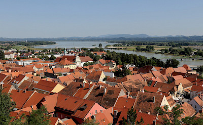 Town of Ptuj along the Drava River, Slovenia. Flickr:Lorenzo Magnis