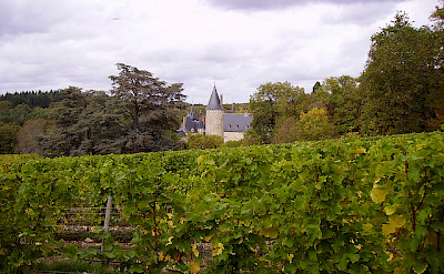 Chateau in Burgundy. Photo via Flickr:jpc24